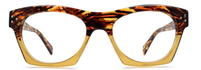 Gerry Large Frame Glasses and Big Glasses by Black Eyewear