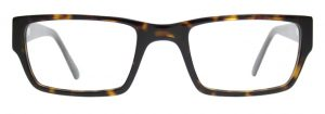 Square Glasses Fames EARL by Black Eyewear.
