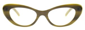 Cat Eye Glasses Mildred by Black Eyewear