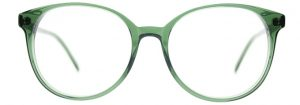 Green Round Glasses, Round Frame Glasses, Round Prescription Glasses, Round Eyeglass Frames TRUDY by Black Eyewear