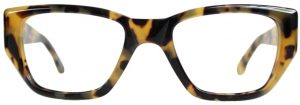 Large Glasses, Oversized Glasses frames, Big frame glasses, Extra Large Frames Glasses TUBBY by Black Eyewear