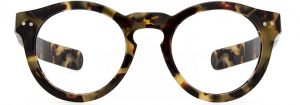 Thick Frame Glasses, Cool Glasses for Men COLTRANE by Black Eyewear