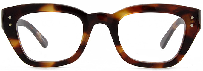 Timeless Retro Glasses frames by Black Eyewear