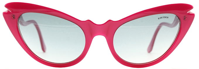 Cat Eye Sunglasses Lil by Black Eyewear