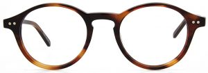 Round Glasses, Round Frame Glasses, Round Prescription Glasses, Round Eyeglass frames WOODY by Black Eyewear