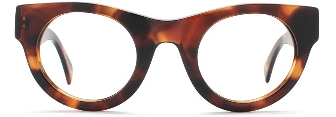 Cat Eye Glasses Aretha by Black Eyewear