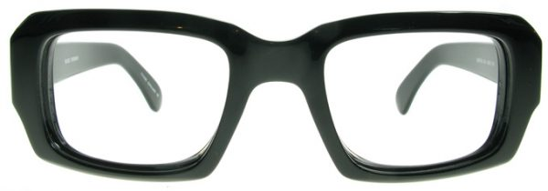 Black square glasses frames Kenton by Black Eyewear