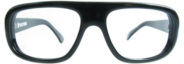 Black Large Glasses Frames Dizzy by Black Eyewear