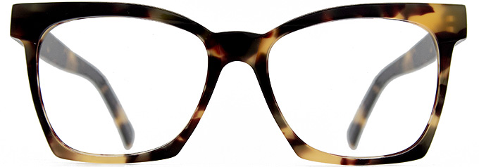 Tortoise shell Glasses frames MIMI by Black Eyewear